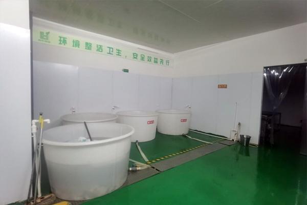 卤华食品厂房环境